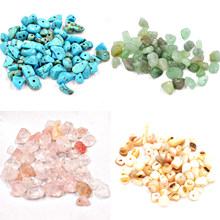 Fltmrh chip de forma livre contas de pedra natural forma irregular para diy colar pulseira moda jóias fazendo