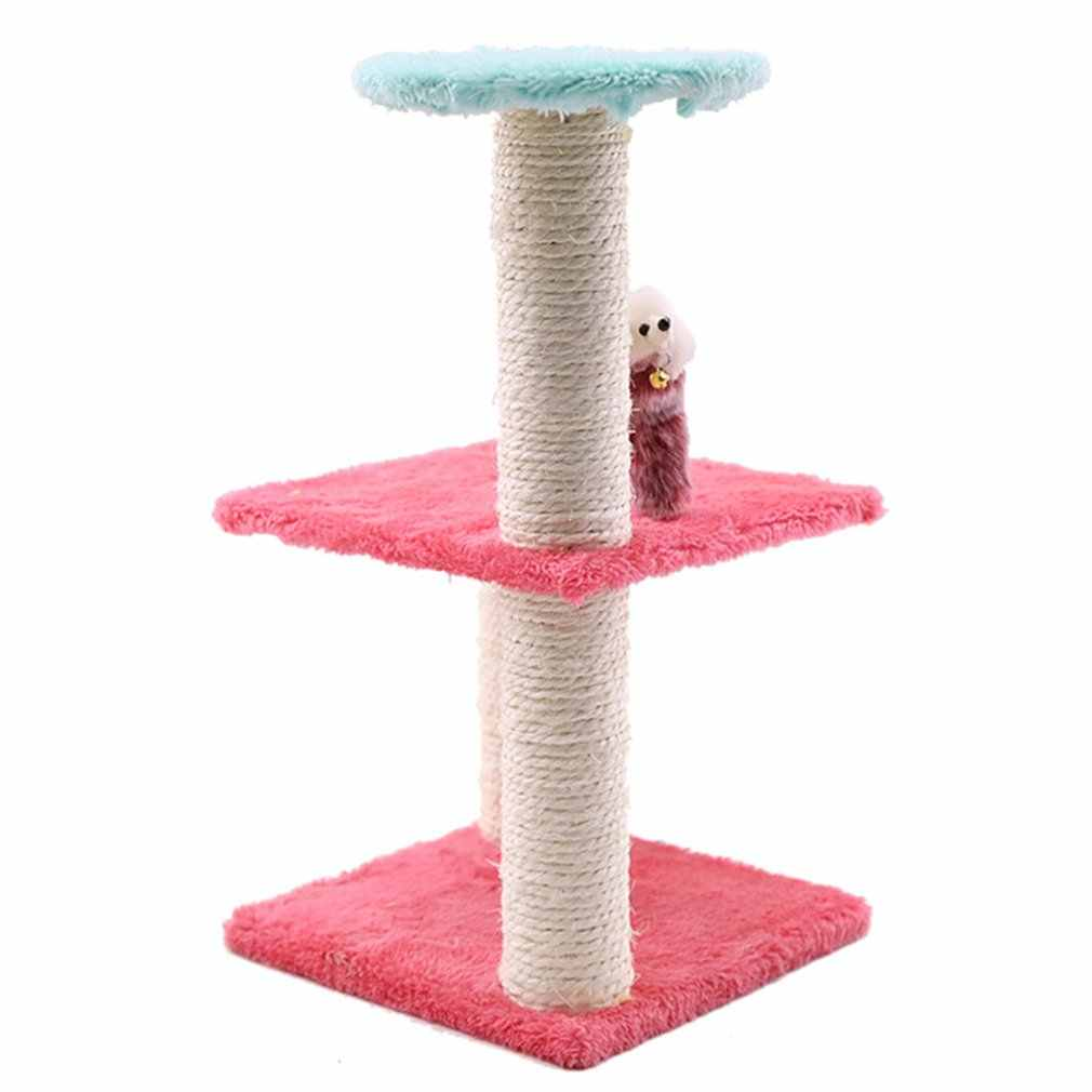 Pet Diy Three-Layer Generous Bottom Sisal Cat Cat Climbing Cat Toy Cat Springboard Detachable Pet Supplies