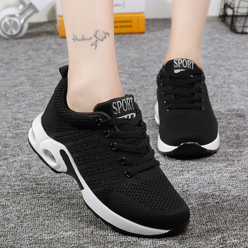 Ladies Trainers Casual Mesh Sneakers Pink Women Flat Shoes Lightweight Soft Sneakers Breathable Footwear Basket Shoes Plus Size 2
