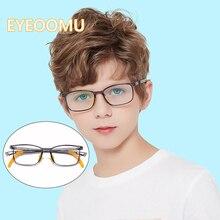 EYEOOMU 2020 детский синий светильник, блокирующие очки, детские защитные очки для глаз TR90, очки для близорукости, компьютерные оптические очки д...