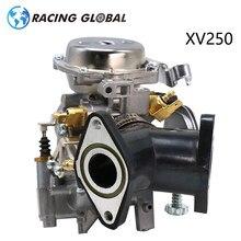 Alcon-corrida xv 250 26mm carburador com distribuidor adaptador para yamaha xv 250 virago 250 v-star 250 route 66 1988-2014