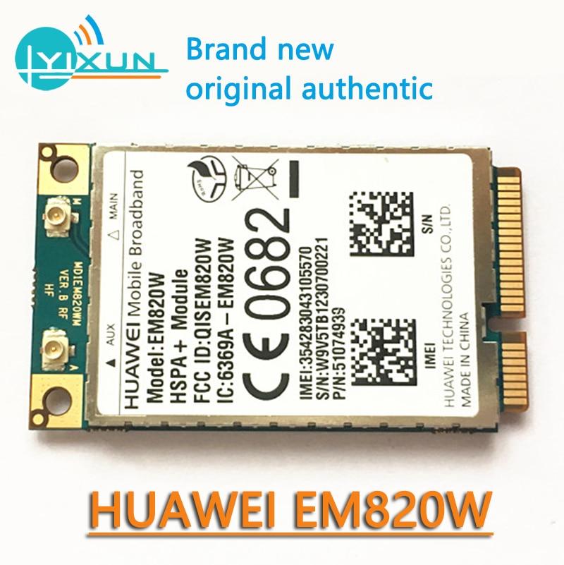 3G Module HuaWei EM820W GSM WCDMA 3G Wireless WWAN Mini PCI-E Card HSPA+21Mbps Brand New Original Support SMS, Data, GPS