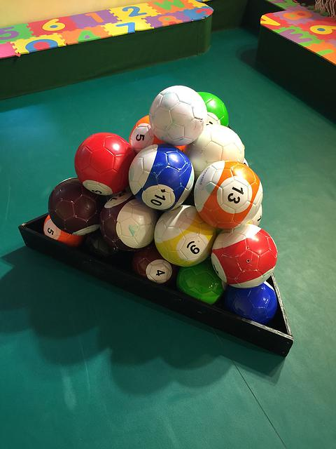 2# Gaint Snook Ball Snookball Snooker Billiards Soccer 8 Inch Game Huge Pool Football Include Air Pump Soccer Toy image