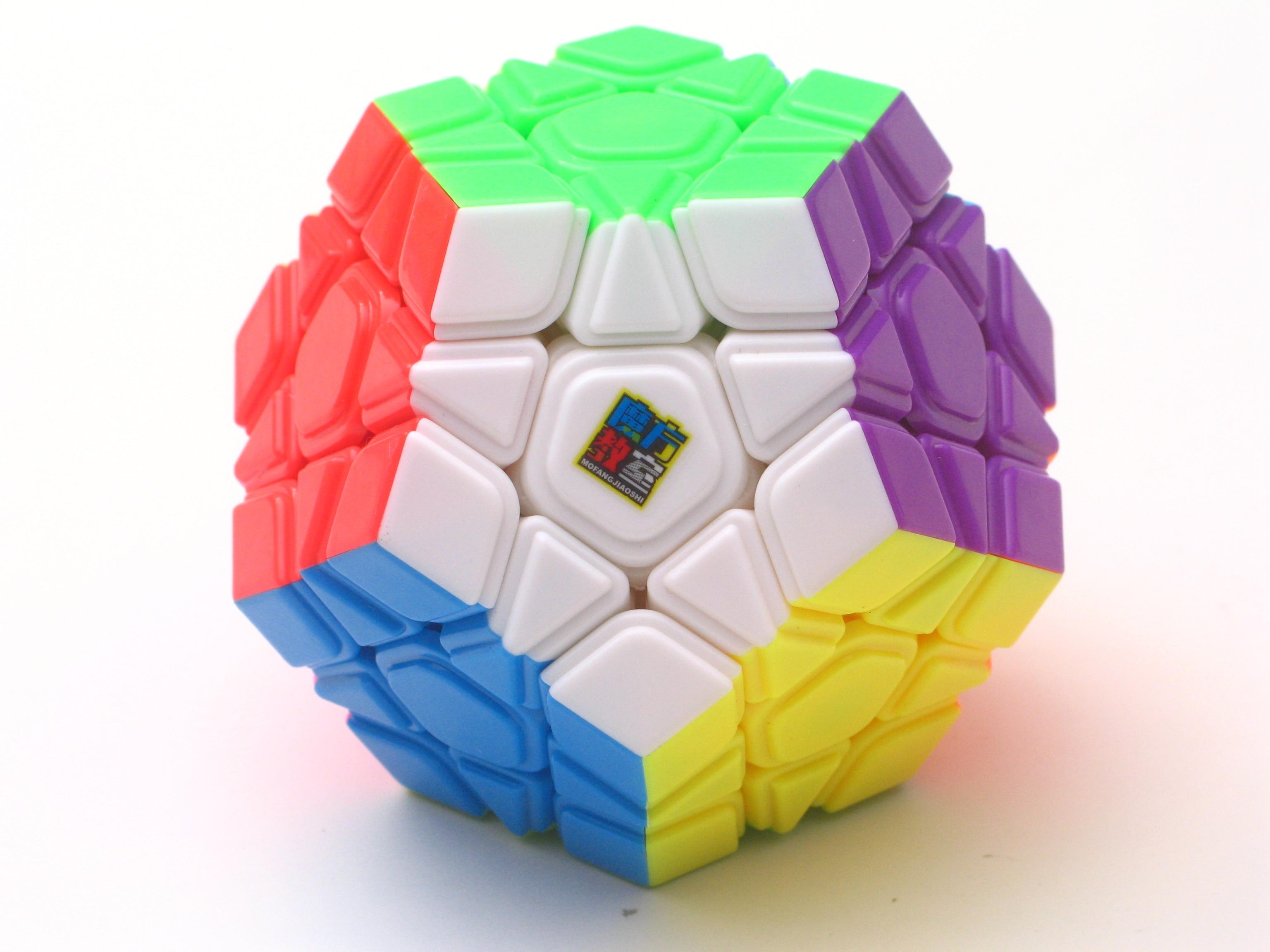 Original Moyu Mofangjiaoshi 3x3 Wumofang Meilong Stickerless Magic Cube Puzzle Cubo Magico Convex Professional Educational Toys
