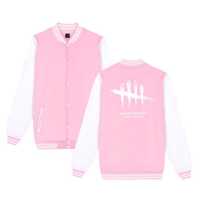 Unisex Fashion Baseball Jacket Dead By Daylight Baseball Uniform  Harajuku Sportswear Boys Girls Lovely Cotton Jackets Clothes 6