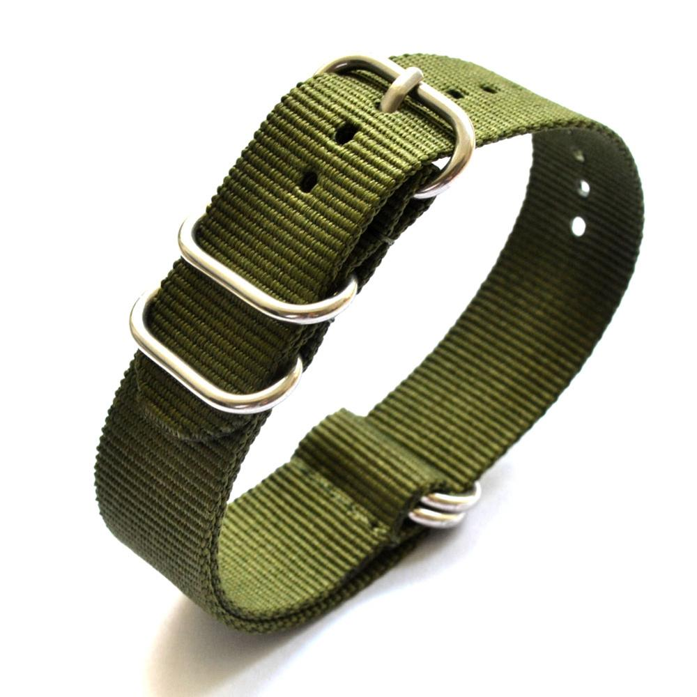 Nylon Watch Strap 24mm 22mm 20mm For Samsung Galaxy Watch Nylon Strap Watch Band For Samsung Gear S3 20 22 24mm Correa Pulseira