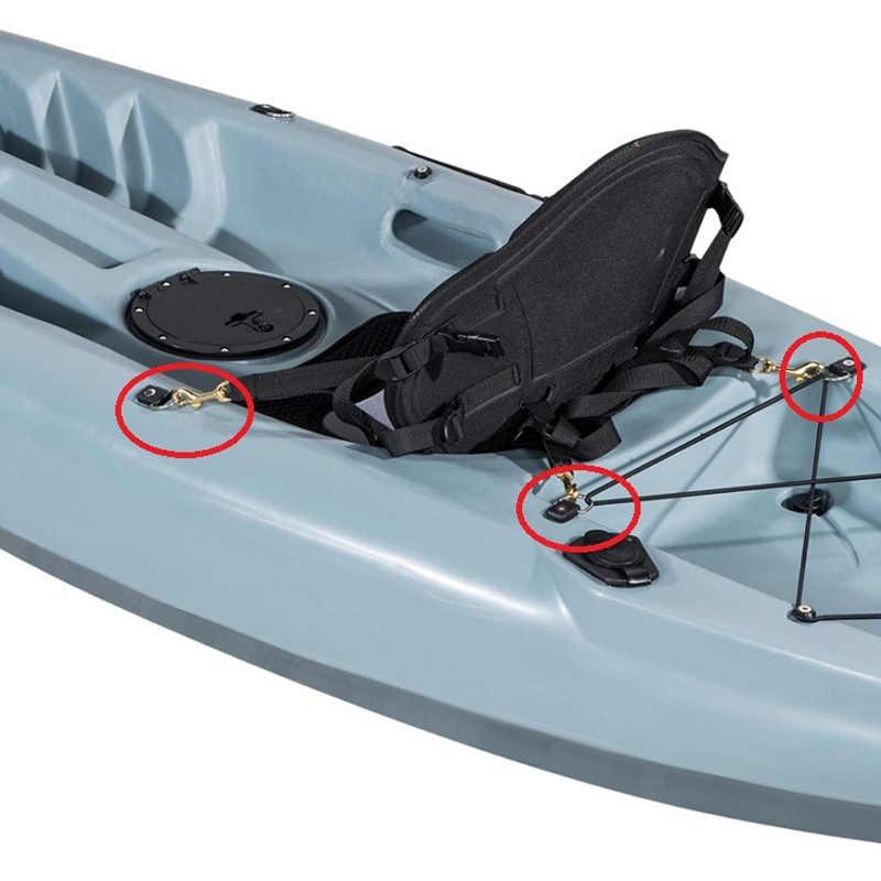 2Pcs Soft Comfortable Padded Kayak Seat Pad Boat Cushion Canoe Fishing Drifting