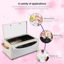 Manicure Vacuum Cleaner  75℃ to 250℃ Upgraded Smart High Temperature Sterilizer Towel Nail Dental Kit SE Nails Accessoires Tools