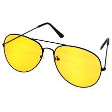 للرؤية الليلية عدسات صفراء اللون نظارات للقراءة المكبر للنساء الرجال عالية الوضوح طويل النظر الطيار القيادة نظارات شمسية + 1.0 ~ + 4 N5