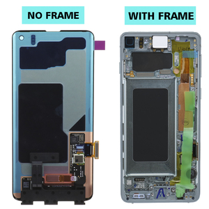 Image 2 - 3040x1440 Original 6.1 S10 LCD Für SAMSUNG Galaxy S10 G973F/DS G973U G973 SM G973 Display Touch screen Digitizer Ersatz