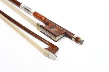 Violin Bow 4/4 Snakewood Natural HorseTail Great Balance parts+Accessories