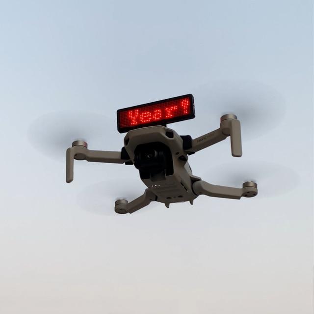 Billboard Display installation DIY Bracket For DJI Mavic Mini Quick Release LED badge bracket Drone Stand Accessories