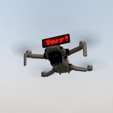عرض لوحة الإعلانات تركيب لتقوم بها بنفسك قوس ل DJI Mavic Mini الإفراج السريع LED شارة قوس الطائرة بدون طيار حامل الملحقات