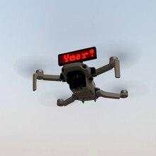 Display Cartellone Installazione Fai da Te Staffa per Dji Mavic Mini Sgancio Rapido Led Distintivo Staffa Drone Accessori di Stand