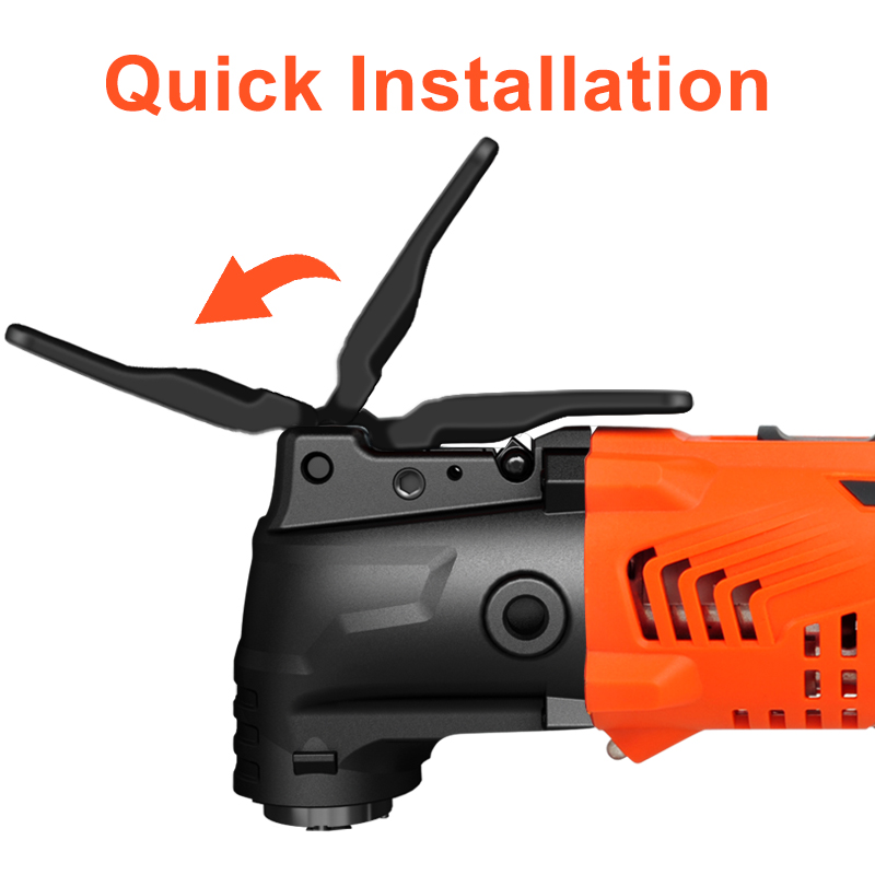Image 3 - LOMVUM 300W Power Renovator Cordless Oscillating Woodworking Tools DIY Home Variable Speed Multi Cutter Electric Trimmer Blade-in Oscillating Multi-Tools from Tools