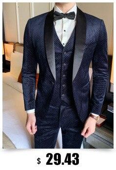 H0c7c8a64f02442a5833d32be08d0e162l - Striped Blazer Mens Slim Fit Blazer Slim Masculino Business Casual Mens Stylish Blazer Spring Autumn Dot  Striped Blazers Mens