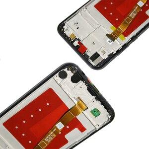 Image 4 - Orijinal 5.84 LCD ekran için çerçeve ile P20 Lite Nova 3e LCD ekran dokunmatik ekran Digitizer meclisi ANE LX1 ANE LX3