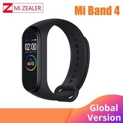 2019 versión Global Xiaomi mi Band 4 pulsera inteligente pantalla Color ritmo cardíaco Fitness 135mAh Bluetooth 5,0 50M natación mi ng impermeable