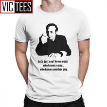 Camiseta saul goodman para homens, camiseta de algodão para homens, série casual 100 por cento