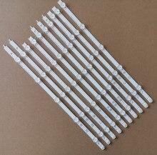 """10 pièces/ensemble En Aluminium Nouveau LED Bande Pour LG 42 """"LC420DUE 42ln575s 42LP360C 6916L 1214A 6916L 1215A 6916L 1216A 6916L 1217A"""
