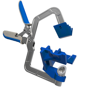 Image 2 - ไม้ quick คีม clamp มุมขวาคลิป splint 90 องศา T clamp เสริม fixture คลิปงานไม้ DIY เครื่องมือ