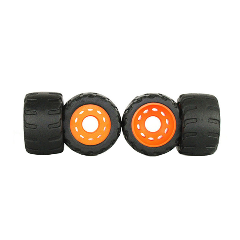4PCS/Set Anti Vibration Sports Low Noise Cruiser Skateboard Wheels Durable Road Racing Outdoor PU Rubber Universal With Bearing