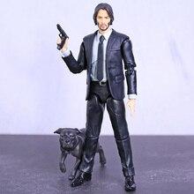 MAFEX 085 John Wick Capitolo 2 Keanu Reeves PVC Action Figure Da Collezione Model Toy Figurine