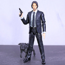 Mafex 085 john wick capítulo 2 keanu reeves pvc figura de ação collectible modelo brinquedo estatueta