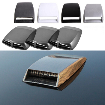 Car Fender Bonnet Hood Air Flow Intake Vent Cover For Suzuki Swift Bmw F10 X5 E70 E30 F20 E34 G30 E92 E91 M Volvo XC90 S60 V40 image