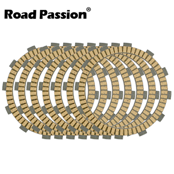Road Passion 7pcs Motorcycle Clutch Friction Plates Kit For BMW F650GS F650 F 650 GS 650GS 2001 2002 2003 2004 2005