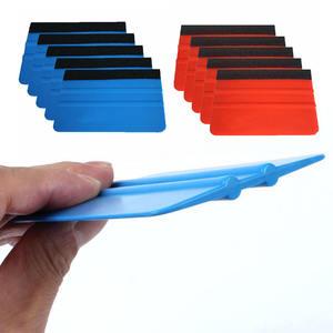 Image 3 - 5 adet keçe kenar silecek araba filmi aracı plaka çok fonksiyonlu temizlik etiket sarma araçları