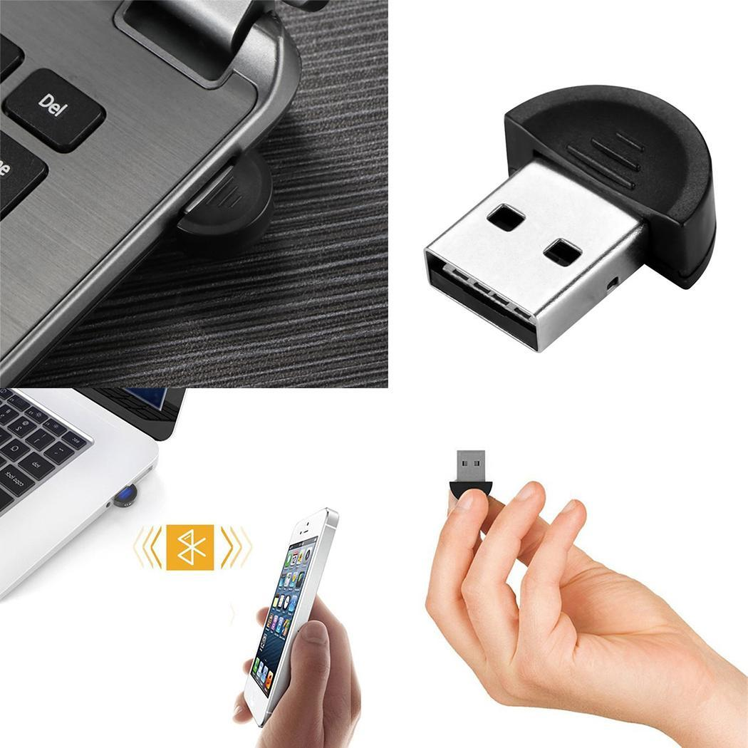 Mini USB Bluetooth 2.0 Wireless Adapter V Bluetooth 3Mbps 0-100m USB Black Dongle Compliance