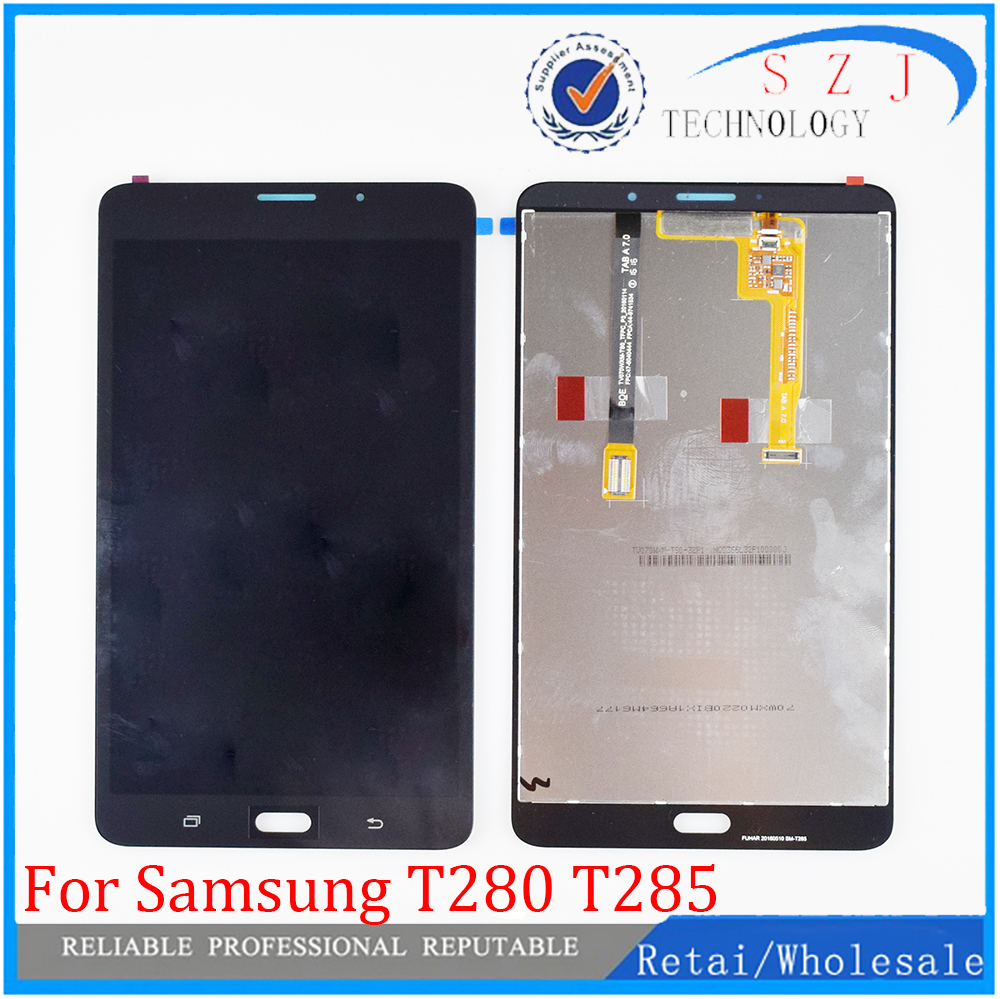 New 7'' For Samsung Galaxy Tab A 7.0 2016 SM-T280 SM-T285 T280 T285 LCD Display Touch Screen Digitizer Assembly Tablet PC Parts
