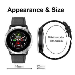 Image 5 - UGUMO hommes affaires montre intelligente ECG Fitness Tracker étanche IP68 Sport Smartwatch fréquence cardiaque moniteur doxygène rappel dappel E70