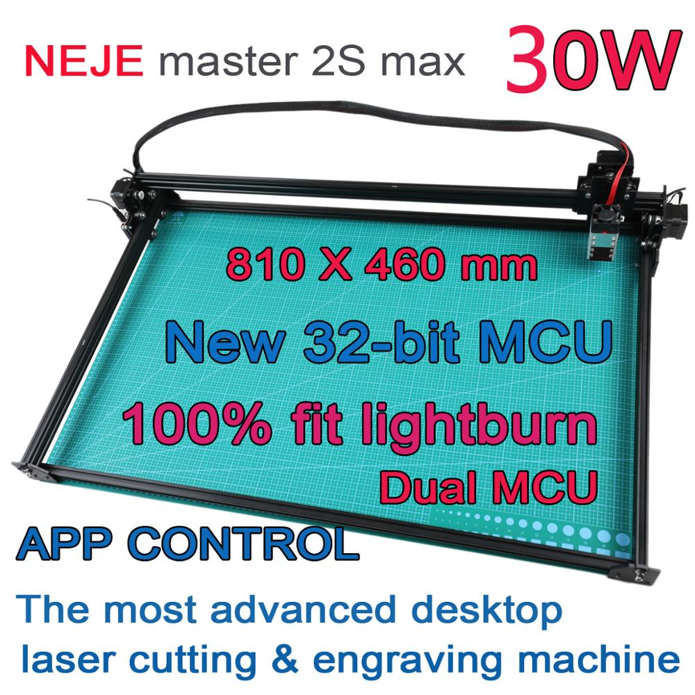 NEJE Master 2 Max 30W 40W 460 x 810MM Professional Laser Engraving Machine, Laser Cutter - Lightburn - Bluetooth - App Control