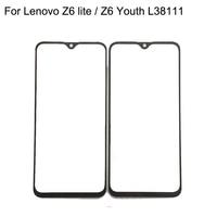 Für Lenovo Z6 lite/Z6 Jugend L38111 Touchscreen Digitizer TouchScreen Glas panel Ohne Flex Kabel Ersatz Teile-in Handy-Touch-Panel aus Handys & Telekommunikation bei