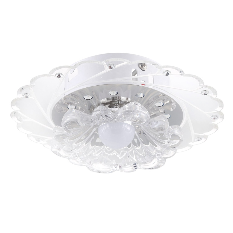 Energy Saving Bright Ceiling Lamp Chandelier Ceiling Light LED Crystal Light Modern Chandelier Light Ceiling Light Lamp White +