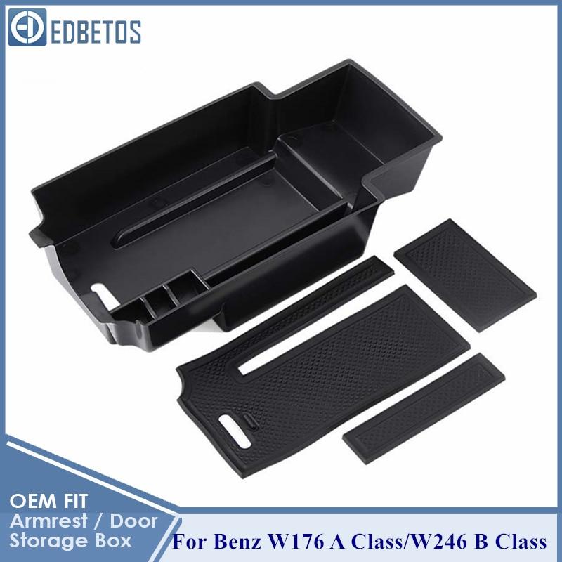 Storage Box Organizer for Armrest Center Console A-Class B-Class GLA CLASS CLA Class