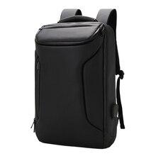 2019 Multifunction Laptop Backpack Men 15.6 inch Office Work USB Business Bag Waterproof Unisex Black Male