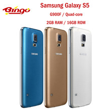 Samsung Galaxy S5 G900F G900H odblokowany telefon komórkowy z androidem czterordzeniowy 5.1