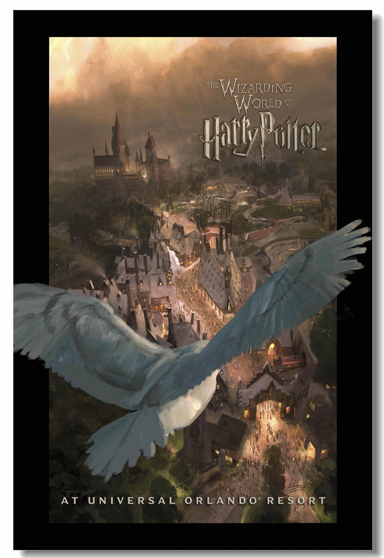 Us 479 20 Offkustom Kanvas Cetak Dinding Seni Dunia Sihir Poster Hp Film Stiker Dinding Sekolah Banner Wallpaper Anak Anak Natal Dekorasi 2534 In