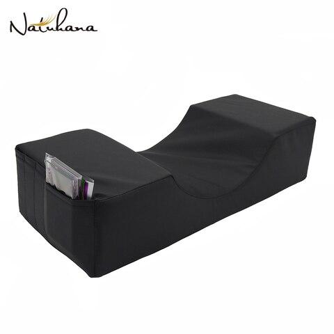 Natuhana matte preto espuma de mem ria travesseiro enxertia c lios travesseiro beleza travesseiro lash