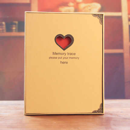 2019 New Style Diy Handmade Photo Albums Scrapbook Self-adhesive Loose-Leaf Paper Crafts  Blank Diary Lovers&baby Birthday Gifts