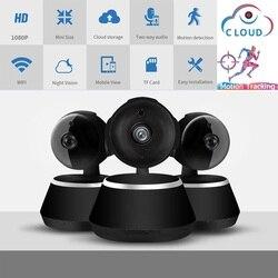 1080P kamera IP kamera CCTV z obsługą wi-fi Mini kamera bezprzewodowa 2.0MP niania elektroniczna Baby Monitor P2P dwukierunkowy dźwięk śledzenia detekcja ruchu magazynu chmury
