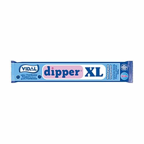 VIDALFORCE Dipper XL - Raspberry Chewable Candy, 100 Units