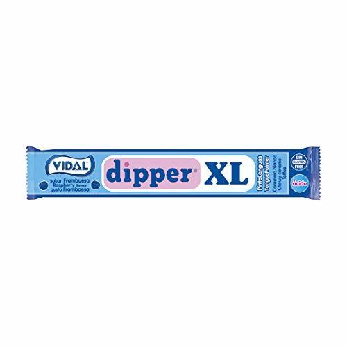 VIDALFORCE Dipper XL - Raspberry Chewable Candy, 100 Units