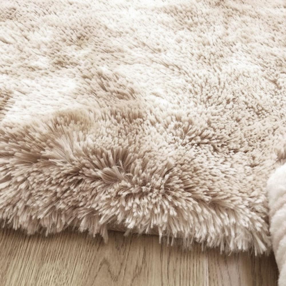 Tapis moelleux chaud 160x200cm salle à manger tapis de sol cravate-teint tapis de sol Polyester Fiber multicolore chambre canapé zone tapis maison