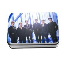 Kpop Astro Blue Flame HD Polaroid Photocard Paper Lomo Photo Card Fans Collective Cardswith Iron Box 40pcs/set