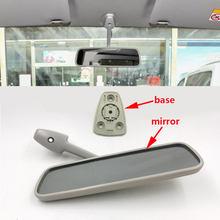 Para nissan nv200 auto interior espelho retrovisor base reverso de volta estacionamento espelho retrovisor interior espelho retrovisor espelho