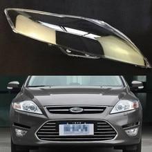 Car Headlight Lens For Ford Mondeo 2008 2009 2010 2011 2012 Car Headlamp Cover Replacement TransparentAuto Shell